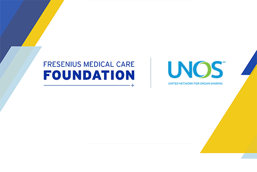Fresenius Medical Care Foundation Announces Grant to United Network for Organ Sharing to Improve Organ Transportation, Tracking, and Logistics