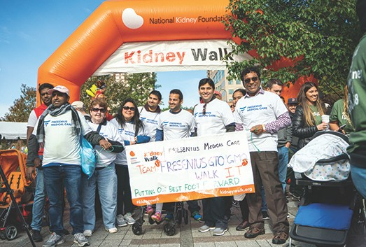 Fresenius Medical Care North America Continues to Support National Kidney Foundation with Record Fundraising